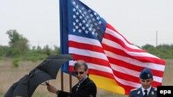 Ռումինիա - Ամերիկյան ՀՕՊ համակարգի տեղակայման հիմնարկեքը Դևեսելու ռազմաբազայում, 3-ը մայիսի, 2013թ․