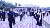 Маросими кушодани мактаби нав дар ноҳияи Данғара. Акс аз сомонаҳои расмӣ