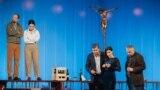 """""""Drumeția"""", Alexandru Conovaru, Delia Nartea, Sandu Pop, Mădălina Ciotea, Florin Dobrovici,Teatrul de Comedie, București, 2017"""