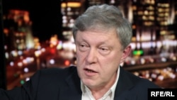 Yabloko party leader Grigory Yavlinsky (file photo)