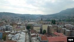 Pamje e një pjese të Sarajevës