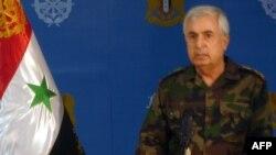 Սիրիայի ԶՈւ գլխավոր շտաբի պետ Ալի Այուբը հայտարարում է սիրիական բանակի լայնամասշտաբ հարձակման մասին, Դամասկոս, 8-ը հոկտեմբերի, 2015թ․