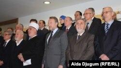Predstavnici bošnjačkog naroda usaglasili Zajedničku izjavu kojom osuđuju svaki oblik ekstremizma i terorizma, Sarajevo 4. decembar 2015.
