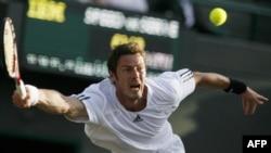 Marat Safin at the 2008 Wimbledon championships