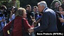 Wesley Clark i novinarka RSE Jasna Vukićević