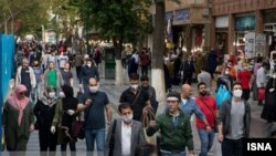 Streets are buzzing In Tehran as social distancing rules are watered down. April 21, 2020