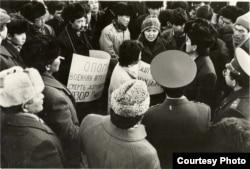 «Ашарчылар» менен «КДКчылардын» жыйыны. 21-январь, 1991-жыл.