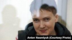Надежда Савченко в Донецком городском суде Ростовской области
