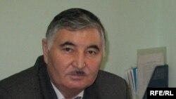 Жазушы Қайым-Мұнар Табеев. Алматы, желтоқсан, 2008 жыл.