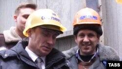 Владимир путин разговаривает с нефтяниками, Сургут
