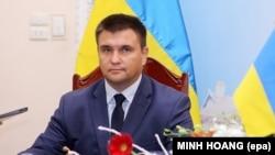 Ukraynanın xarici işlər naziri, Pavlo Klimkin