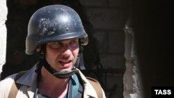 Russian photojournalist Andrei Stenin