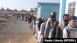 Avganistan glasanje