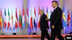 Президент України Віктор Янукович, Варшава, 30 вересня 2011 року