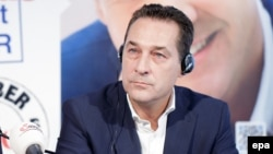 "Austrian Freedom Party (FPOE) leader Heinz-Christian Strache renewed his call to lift ""damaging and pointless international sanctions"" against Russia over its actions in Ukraine."