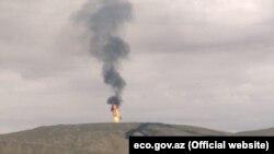 Вулкан Отман-Боздаг является вторым в мире по величине грязевым вулканом