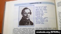 Старонка зь бібліяграфічнага слоўніка «Беларускія пісьменьнікі»