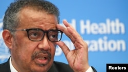 Shefi i Organizatës Botërore të Shëndetësisë, Tedros Adhanom Ghebreyesus.