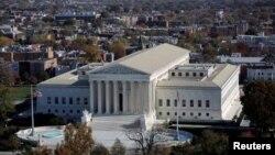 Pamje e ndërtesës së Gjykatës Supreme të Shteteve të Bashkuara në Uashington