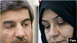 فاطمه آلیا و علی ذبیحی، وزیران پیشنهادی آموزش و پرورش و نیرو
