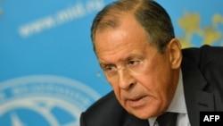 Rusiyanın xarici işlər naziri Sergei Lavrov