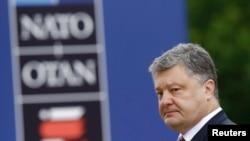 Президент України Петро Порошенко на саміті НАТО у Варшаві, 9 липня 2016 року