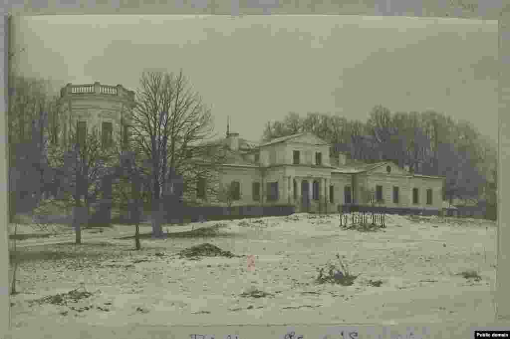 Палац Сьвяцкіх у Беліцы, Сеньненскі раён, 1915 год