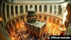 Sveta vatra u Jeruzalemu uoči pravoslavnog Uskrsa