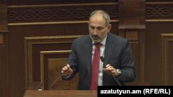 Премьер-министр Армении Никол Пашинян, 11 сентября 2019 г.