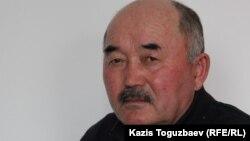 Серикжан Малыбеков, старший брат погибшего Рината Малыбекова. Алматы, 1 марта 2016 года.