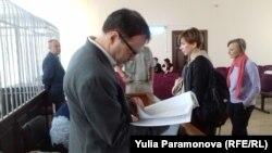 Дмитрий Новиков в суде