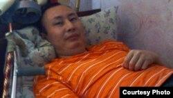 Житель города Кокшетау Талап Рамазанов, фото из семейного архива.