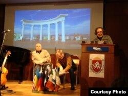 Геннадий Кацов, Игорь Сид, Ян Пробштейн. Фото © Максима Д. Шраера
