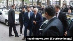 جواد ظریف در وین