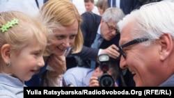 Франк-Вальтер Штайнмайер в Днепропетровске, 30 мая 2015