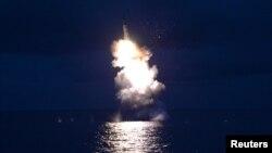 Пуск ракети Північною Кореєю (ілюстративне фото)