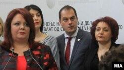 Катица Јанева (лево) и Лиле Стефанова (десно)