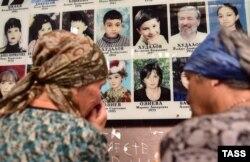Траурное мероприятие в школе №1 в Беслане, 1 сентября 2016 года