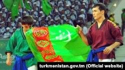 Туркменские атлеты на Играх Ашхабад-2017