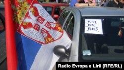 Protest u sverenoj Mitrovici