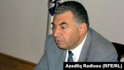 Azerbaijan -- Deputy Prime Minister Ali Hasanov.