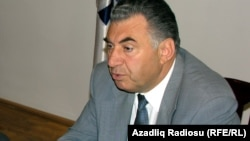 Вице-премьер, председатель Госкомитета по работе с беженцами и вынужденными переселенцами Али Гасанов