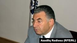 Глава госкомитета по делам беженцев, вице-премьер Али Гасанов