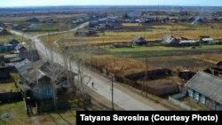 Село Голуметь. Иркутская область