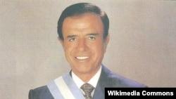 Карлос Менем, президент Аргентины с 1989 по 1999 год