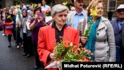 Tabuti srebreničkih žrtava ispraćeni iz Sarajeva