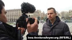 Брат Евгения Панова – Игорь Котелянец, Киев, Майдан Независимости, 8 ноября