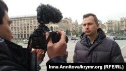 Брат Євгена Панова – Ігор Котелянець, Київ, Майдан Незалежності, 8 листопада