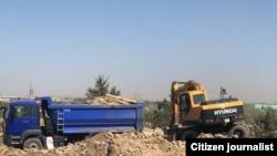 В селе «Байткурган» сносят еще сотни домов.