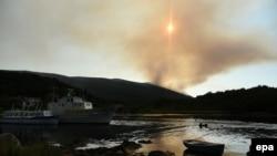 Požar na Luštici, 18. juli 2017